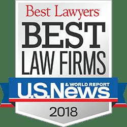 U.S. News Best Law Firms 2018 Badge - Hurst Limontes LLC